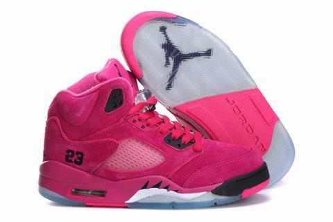 basket air jordan fille
