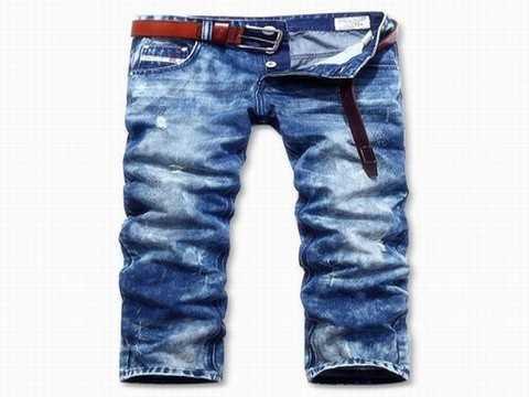 Jeans diesel homme coupe droite pas cher